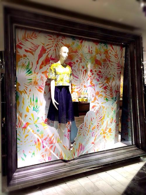 春の装飾@新宿伊勢丹店