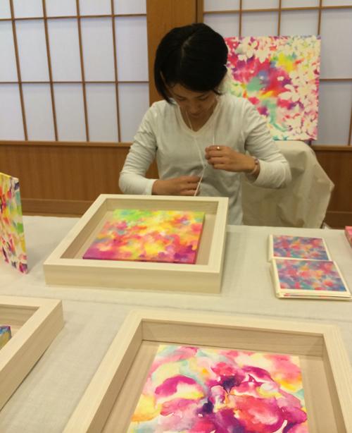 増上寺でのグループ展、天祭一◯八に参加してきました。