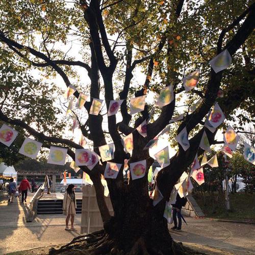 HAPPY EARTHDAY OSAKA2016 会場装飾・色彩ワークショップ企画