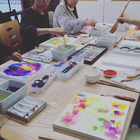 上羽絵惣さんでの色彩ワークショップ日程のお知らせ