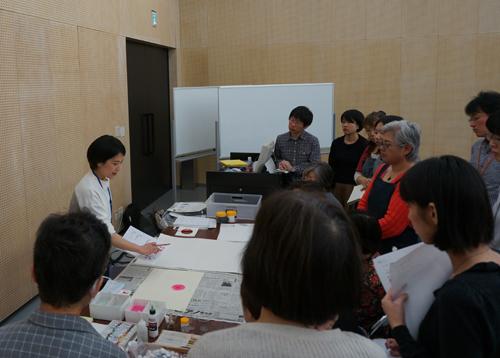 「自分を色であらわす」色彩講座@東京藝術学舎