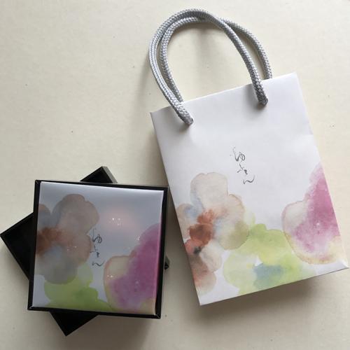 森永製菓の新作チョコレート「ゆふてん」色彩制作