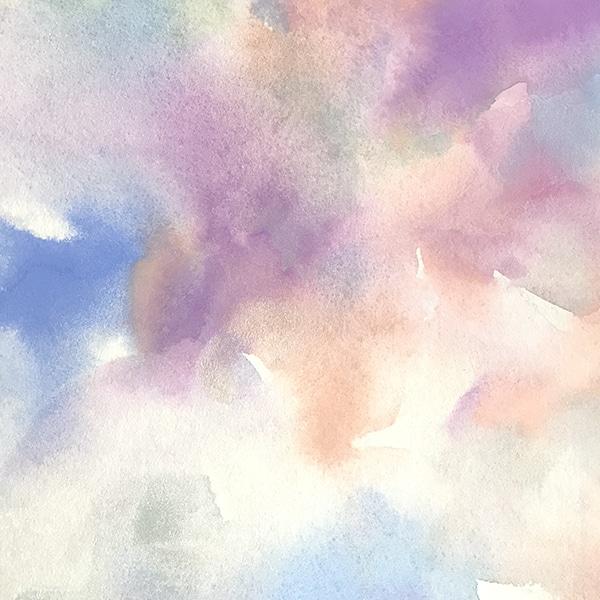 色彩画/ここち良く包まれる色