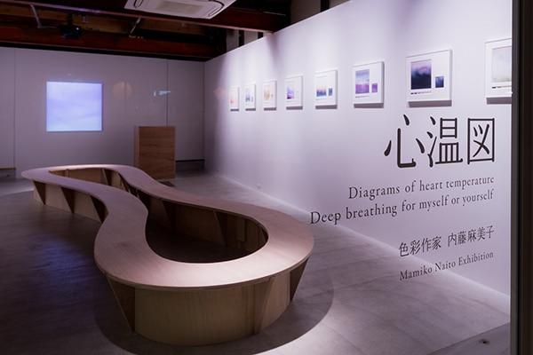 個展/2019心温図 〜 わたしの、あなたの、深い呼吸〜 <展示風景>