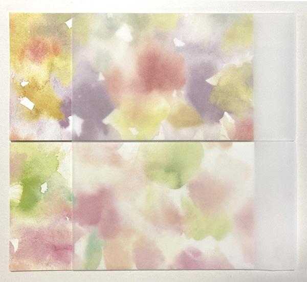 受注色彩制作/四季の掛け紙