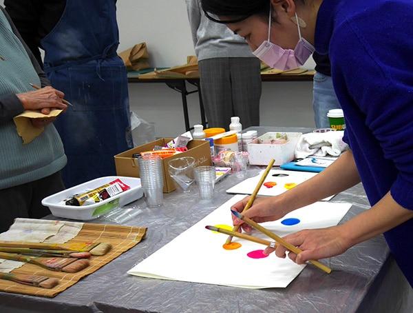 大阪藝術学舎での色彩講座、無事終了しました